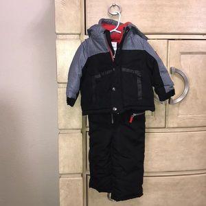 Toddler boy snowsuit